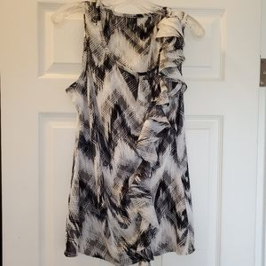 NWOT Maurices Ruffle Tank